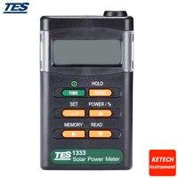 TES1333 Solar Power Meters Digital Radiation Detector Solar Cell Energy Tester
