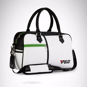 Cost PGM Golf Clothing Bag Travel Golf Bag PU Leather High Capacity Double Layer Golf Shoes Bags Handbags A959