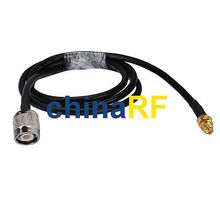 Wireless Antenna extension cable SMA female to TNC male plug pigtail KSR195 2M