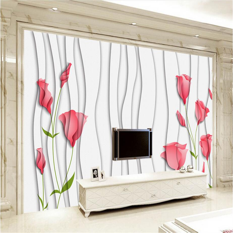 Custou 3d Wall Covering Hand Painted Flowers Dream Embossed Wall Paper 3d Stereoscopic Wallpaper Wall Mural for Living Room classical golden pattern soft rolls luxury embossed wallpaper 3d room for livingroom 3d wall paper covering household murals