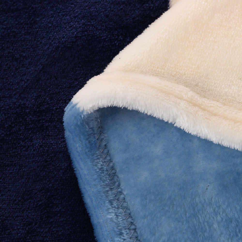 1 PC Chất Lượng Cao Chăn 70*100 Cm Siêu Mềm Ấm Chắc Chắn Ấm Micro Sang Trọng Chăn Ném Thảm ghế Sofa Giường Thương Hiệu Mới