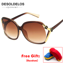 Fashion Polarized Sunglasses Women Brand Designer Vintage Polaroid Female Luxury Eyewear with box