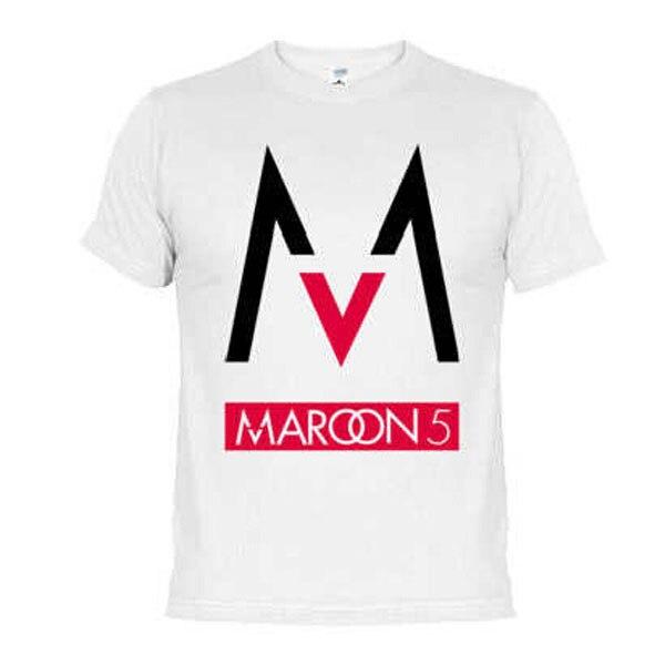 2f8b5dab0 Free Shipping mens t shirts fashion 2017 band Maroons 5 men t shirt rock  band short sleeve tshirt hip hop cotton tee shirts