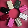 Metallic Mini Flap Bags Creative Phone Pouch Bag Waterproof PC Makeup Organizer Bag Case