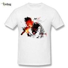 3D Print Male Chester Bennington Link Park T Shirts Cool Design Short Sleeve Tees