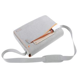Image 2 - MOSISO Large Capacity Laptop Shoulder Bag 11 12 13 14 15 15.6 inch Waterproof Notebook Bag for MacBook/Dell/HP/Lenovo/Acer/Asus