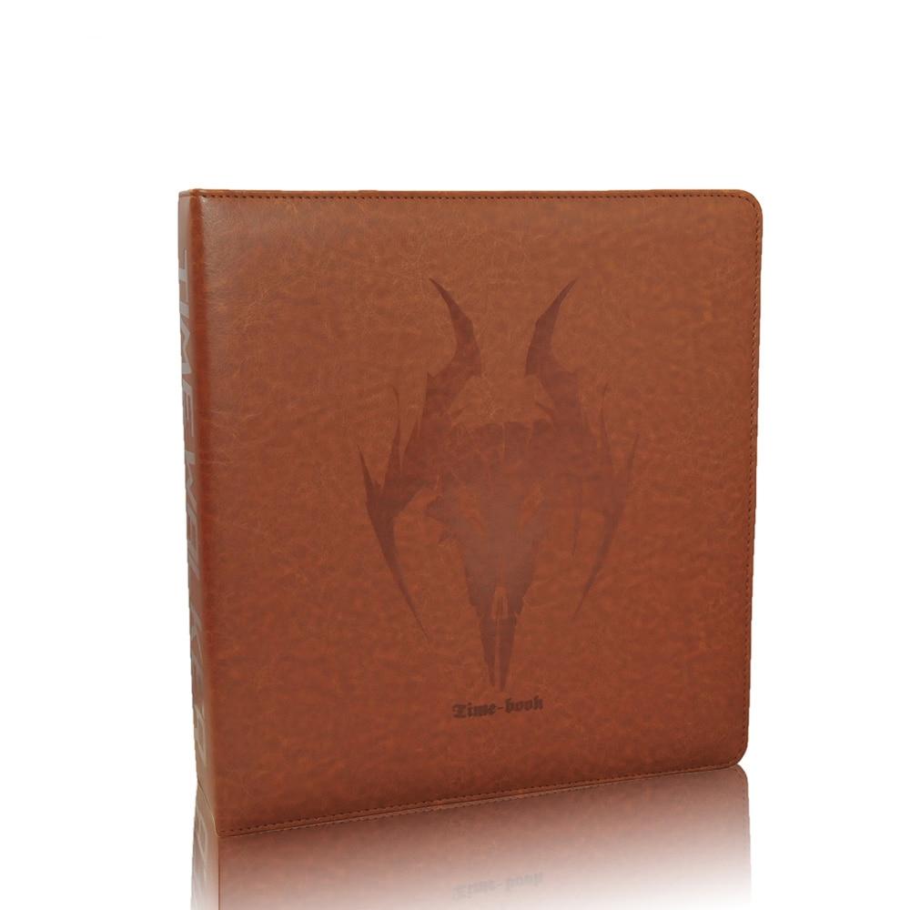 TW The Large Capacity Nine Lattice Loose Leaf Card Book Tebin Card Game King Star Card Zero Dimension VG