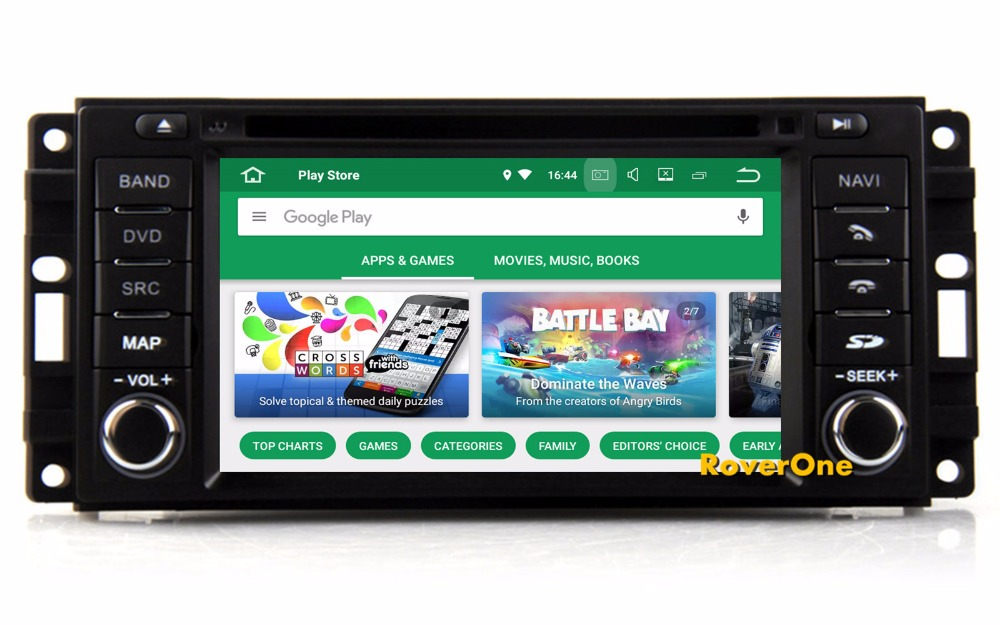 Android 8.0 Octa Core Car Radio DVD GPS Navigation For Dodge Avenger Challenger Charger Dakota Durango Grand Caravan Journey