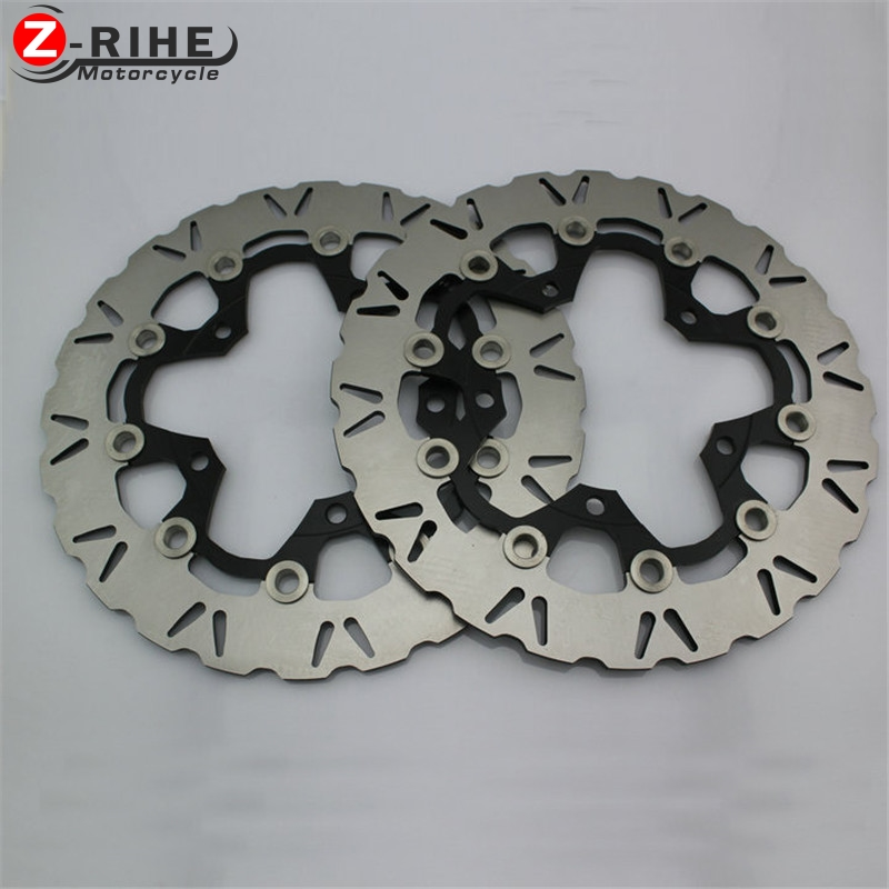 2PCS Front Floating Brake Disc Rotor motorcycle parts Aluminum  Brake Rotors for SUZUKI GSXR1300 HAYABUSA1300 08-15  B-KING 08-1 310mm motorcycle front wavy floating brake disc rotor for suzuki gsf bandit 1250 07 15 gsx1250 10 15 b king 1300 08 11 gsx1300