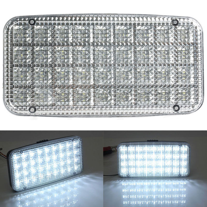 New 36 LED Car Truck Interior Dome Roof Ceiling Light Vehicle Auto White Reading Decorative Lamp DC 12V 6pcs car led interior dome