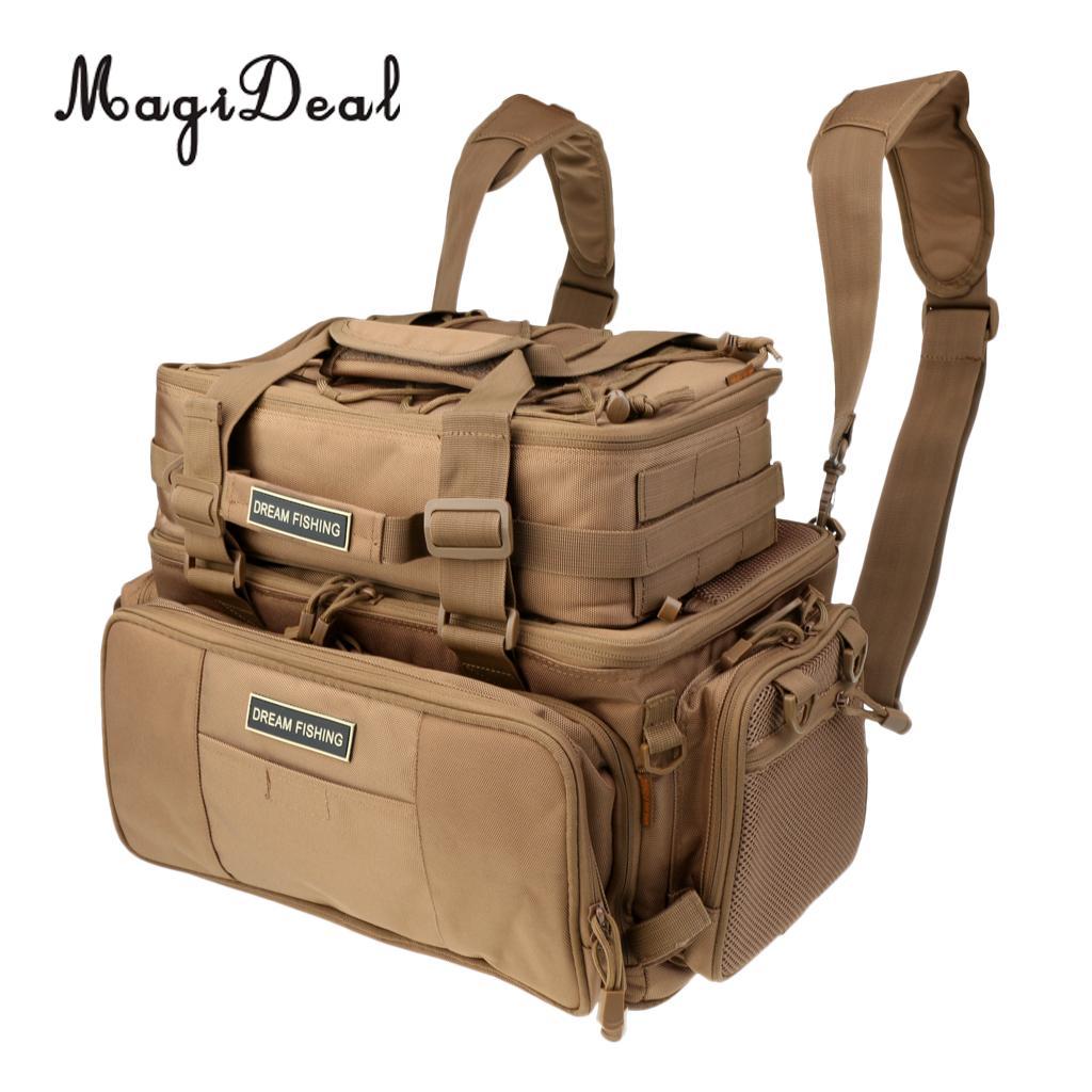 Large Capacity Multi-function Fishing Bags Fishing Tackle Storage Bags