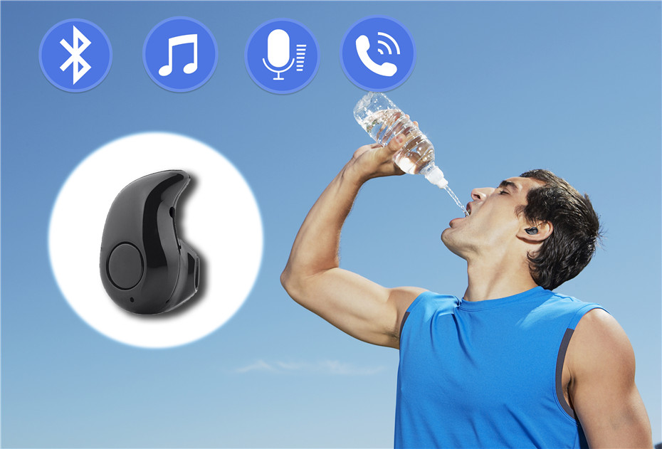 mini Bluetooth earphone S530 for phone sport wireless (3)