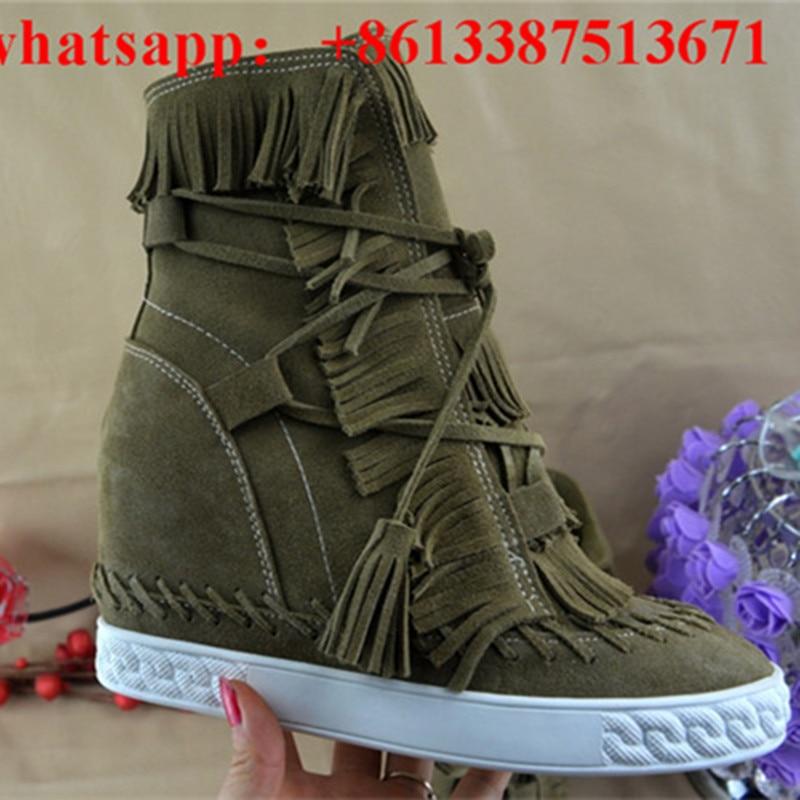Online Get Cheap Green Fringe Boots -Aliexpress.com   Alibaba Group
