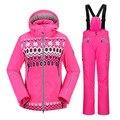 Brand top quality  Women's ski suit  professional outdoor  ski jacket climbing hiking winter ski suit women BRAND girl ski suit