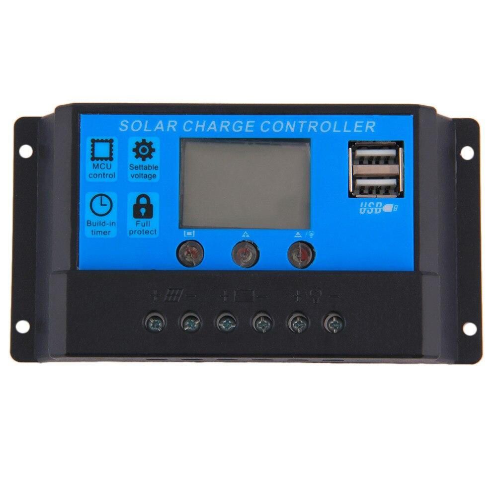 все цены на  2pcs Hot Selling! New 10A 48V TX-10BL48 Solar Charge Controller 2 USB Ports free shipping  онлайн