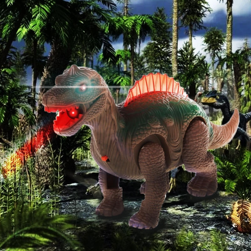 Mighty Electric Walking With Sound Dinosaur Toys Animals Model Toys For Kids