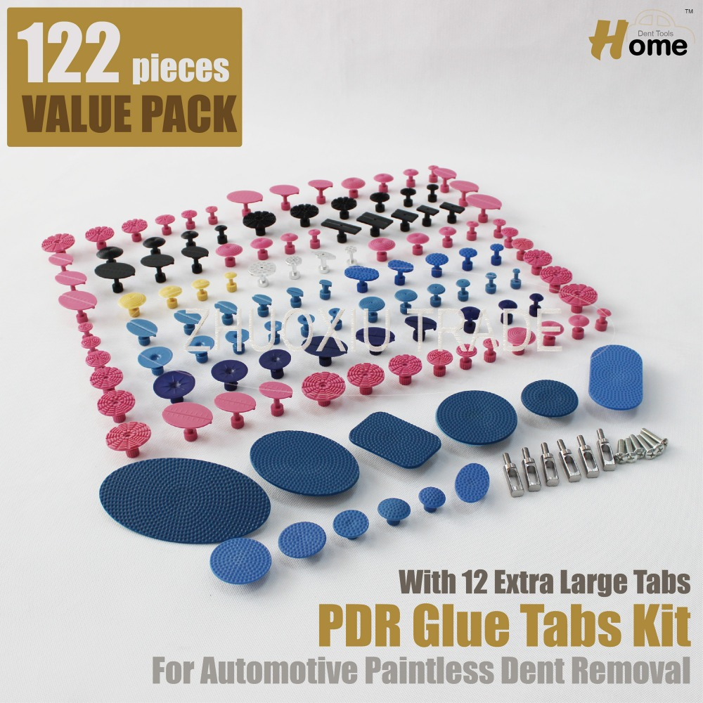 122pc PDR font b Tool b font Dent Lifter Glue Tabs Kit TAB 122
