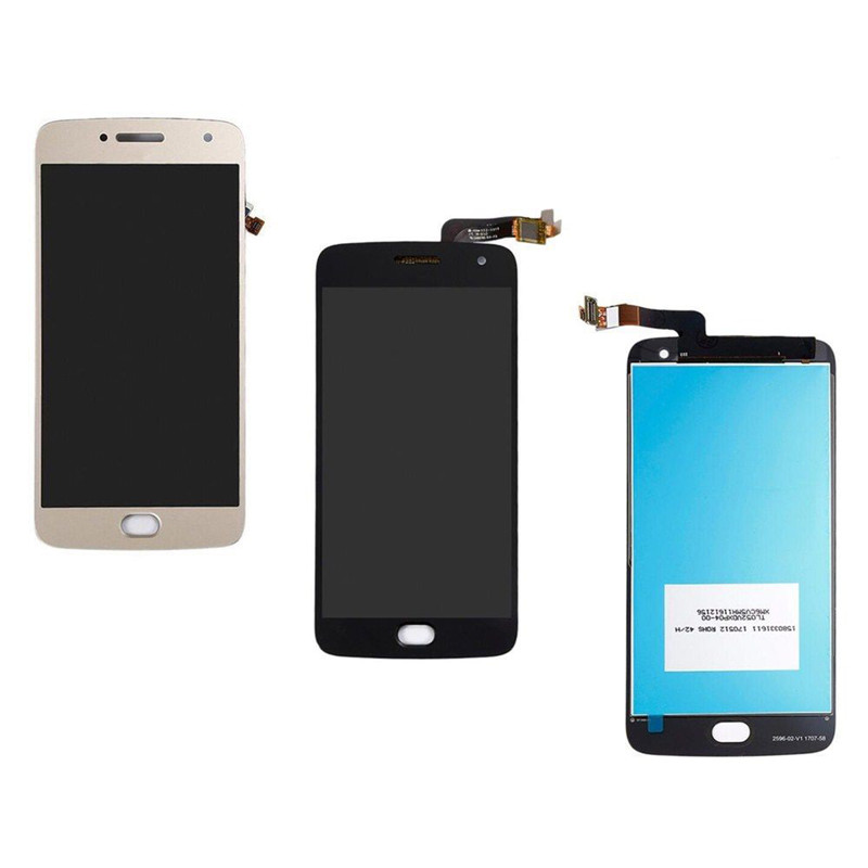 Mobile Phone Adapters 2 Color For Motorola Moto G5 Plus Xt1686 Lcd Display Screen Touch Digitizer