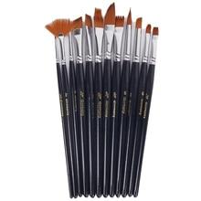 12pcs Nylon hair watercolor Oil painting pen