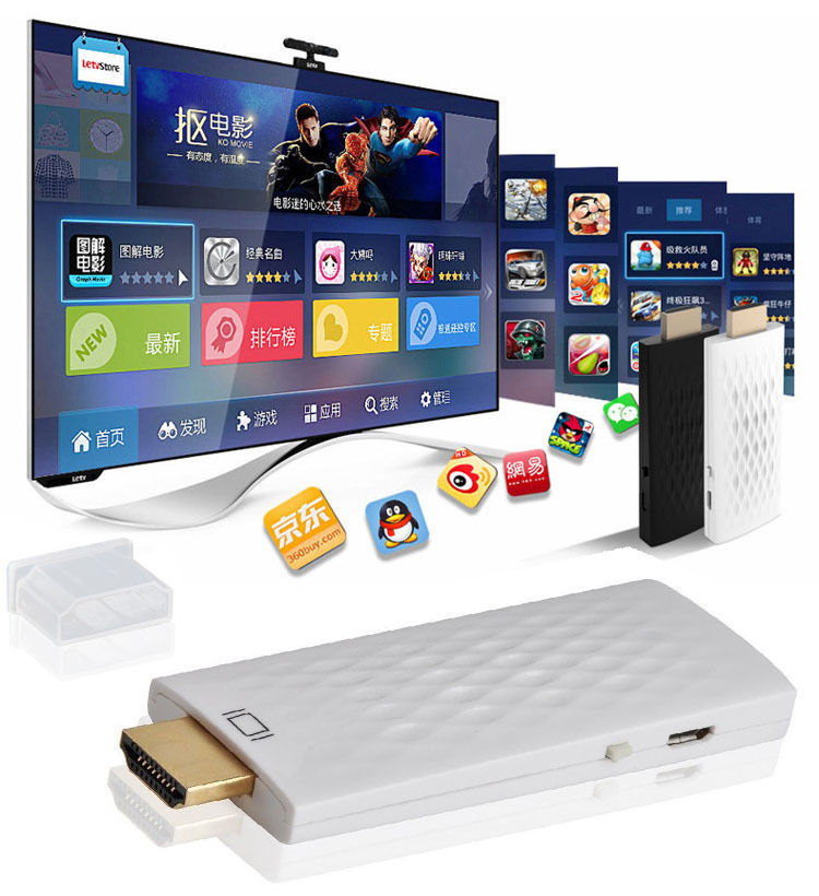 imágenes para Teléfono inalámbrico wifi hdmi dongle para tv hdtv adaptador de vídeo para ipad iphone 6 7 plus 5S lg htc huawei xiaomi sansung s5 s7 nota 3 4