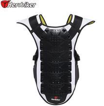 Бесплатная доставка Новые HEROBIKER Мотоциклов броня одежда мотогонок езда броня Рыцаря защитные жилеты