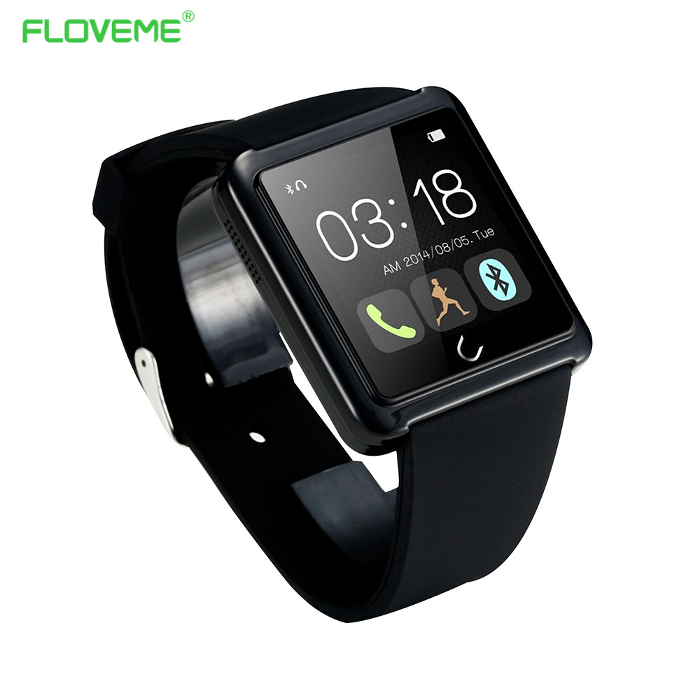 Fashion font b Smartwatch b font For iPhone Andriod IOS Digital Bluetooth Smart Watch Intelligent Wearable