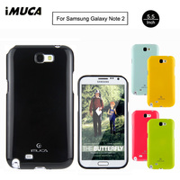 For Samsung Galaxy Note 2 Case IMUCA Ultra Thin Silicone Case Soft TPU Protective Back Covers