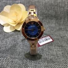 AMICA Luxury Brand 2019 Fashion Fine Mesh Steel 30M Waterproof Quartz Wrist Watch Ladies Watch Women Watch Free Shipping все цены