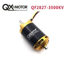 QX-MOTOR бренд QC2827 3500KV бесщеточный двигатель для RC гоночная модель лодки DIY лодки запчасти