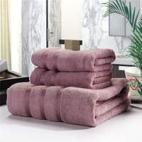 Free Shipping 100% Cotton Bamboo Fiber Towel Bath Towel/Beach Towel Jacquard Towel Set Soft And Fluffy Gift Set