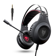 Xiberia Nubwo N2 3.5mm Gaming headset PC Gamer Bass Casque with Mic for PS4 Phone N2U USB gaming Headphone with LED for Computer