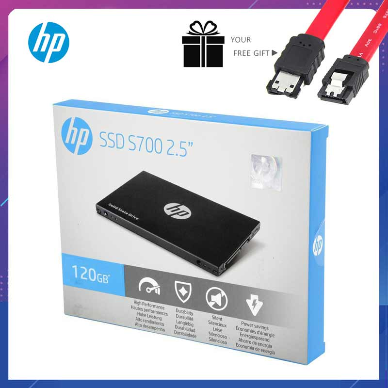 HP <font><b>SSD</b></font> 240gb <font><b>120GB</b></font> <font><b>sata3</b></font> Internal Solid State Drive 2.5 Hard Disk Disc HDD S700 550MB/S SATAIII Data3.0 240GB for Laptop Desktop image