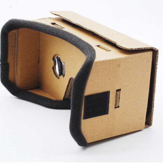 Luz Estilo Castelo Google Papelão VR Óculos de Realidade Virtual Para 3.5-6.0 polegada De Vidro De Smartphones para o iphone para samsung