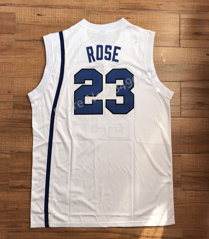 c07eca203 vintage derrick rose 23 memphis tigers college basketball jersey all size embroidery  stitched in bas