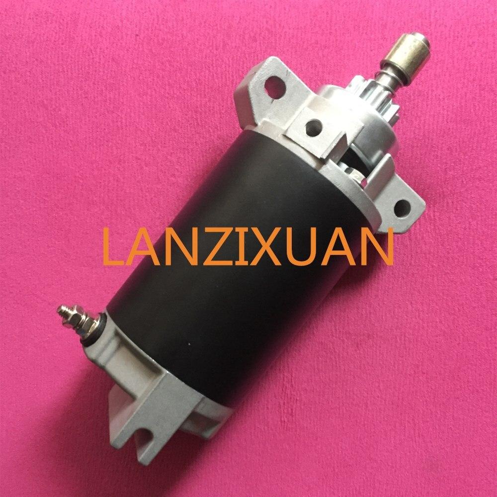 Motor de arranque para yamaha 40hp motor de popa motor de arranque eléctrico 66t-81800-03 40hp e40x enduro 40hv