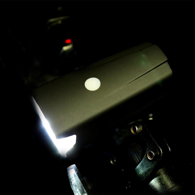 LEADBIKE USB Recargable antideslumbrante Delantero Luz de La Bicicleta Del Manil