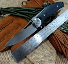 Good stuff  thorn Dark Flipper folding knife D2 blade G10+titanium handle outdoor tactical survival hunting camping knife tools