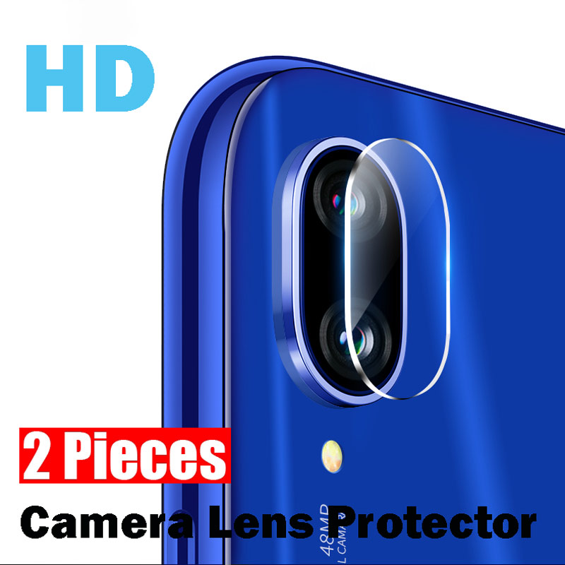 2Pieces Back Camera Lens Tempered Glass For Xiaomi Mi 8 9 SE 9T For Redmi Note 7 5 6 Pro K20 Pocophone F1 9H Protector Lens Film