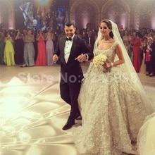 Fashion 2016 New Tulle Beaded Ball Gown Wedding Dress Bridal Gown vestido de noiva Robe De Mariage casamento wedding gowns