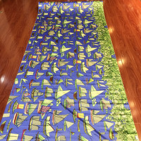 HH Blue 30 Momme Positioning Flowers Heavy Super Thick Silk Satin Charmeuse Fabric 1 14 Meters