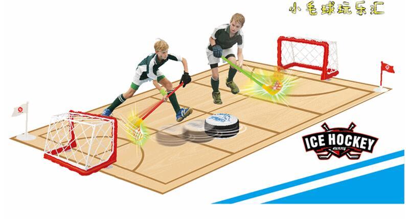 Hockey sur glace écologique et Hockey sur gazon jouets sportifs pour enfants jouets interactifs Parent-enfant cadeau de noël - 4