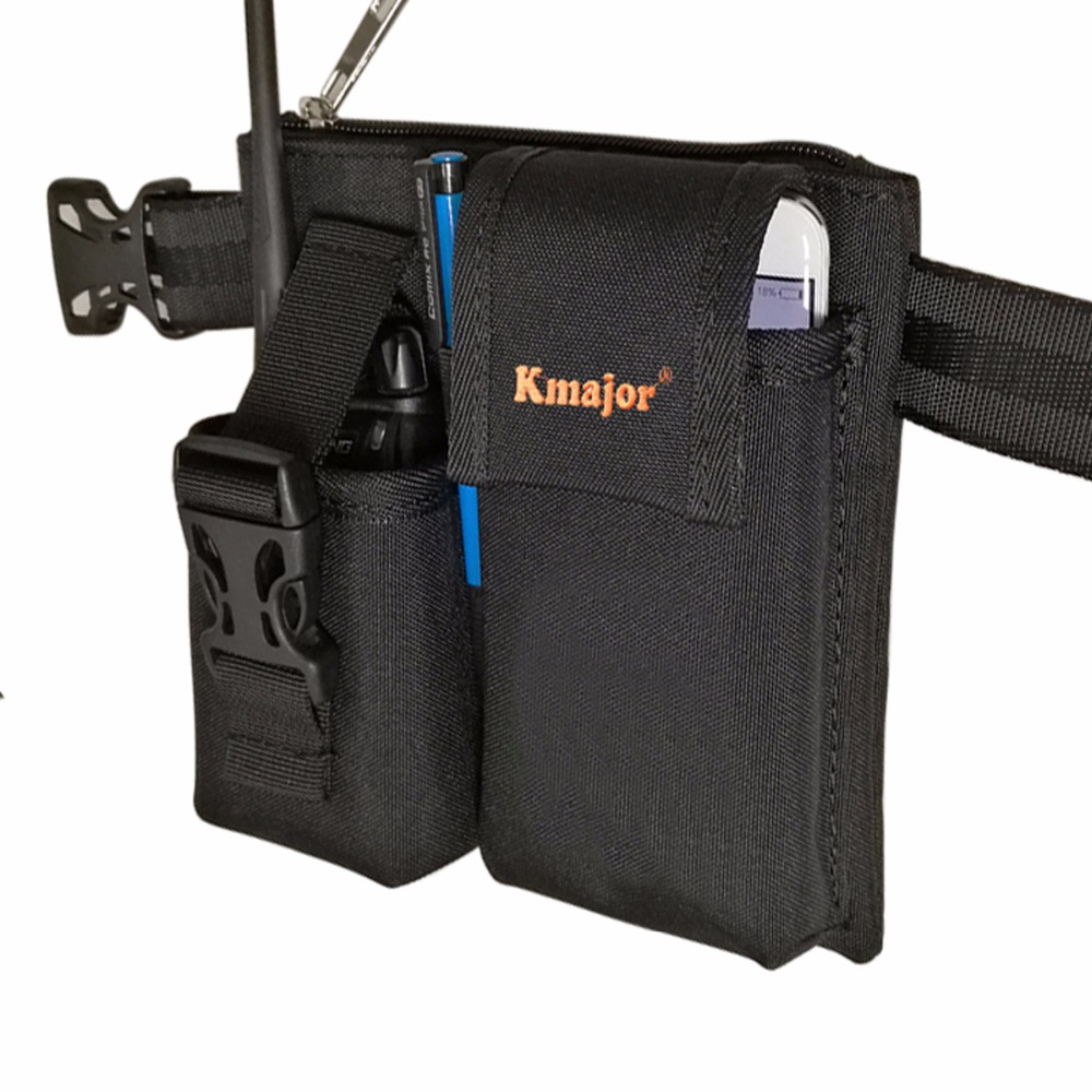 Belt Clip Pouch Carry Nylon Case Holder Waist Cover Case For KSUN H2 X-UV68D X-30 Walkie Talkie Hunting Ham Radio & Phone Bag