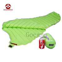 Free Shipping Aegismax UL Wing Outdoor Ultralight Mummy Type White Goose Down Camping Spring And Autumn