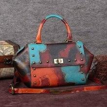 Freies verschiffen Rindsleder kleine taschen umhängetasche weiblichen umhängetasche weiblichen handtasche weiblichen beutel flügel paket frauen handtasche