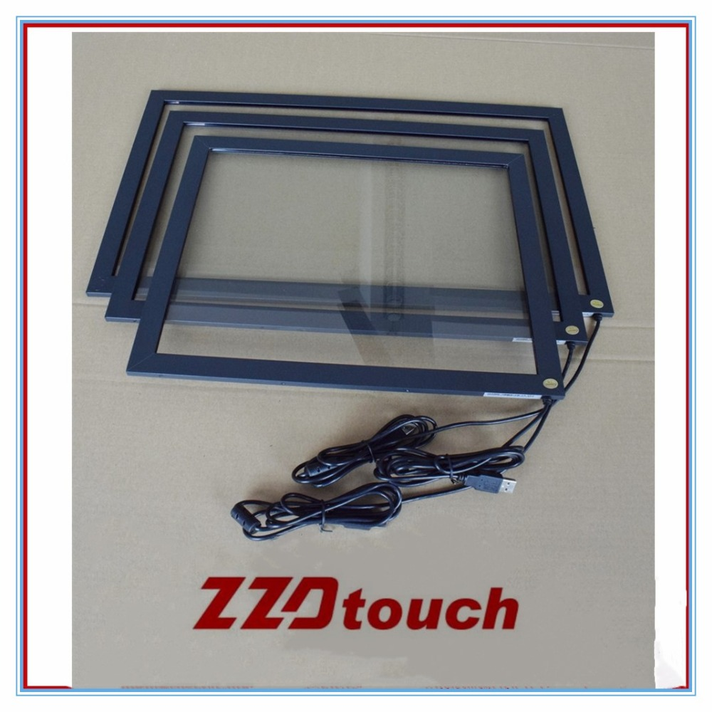 ZZDtouch 24 inch infrared touch screen overlay IR touch frame usb touch screen panel for touch