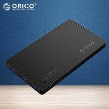 2.5 HDD Корпус ORICO USB 3.0 Жесткий Диск Корпус с 3 порты USB3.0 HUB Без Инструментов Дизайн Драйвер Не Требуется с 5V2A мощность