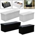 Черный/белый стул коробка для хранения стул для хранения Складная скамейка Stuhl Съемная крышка Экономия пространства водонепроницаемый Sillas ...