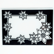 YLEF083 Flower Plastic Embossing Folder For Scrapbook Stencils DIY Photo Album Cards Making Decoration Scrapbooking Template