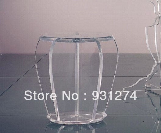 Acrylic Stool/Perspex Plexiglass Dining Stool/Lucite Chair/Vanity Chair /Acrylic Furniture one lux acrylic bar stool for home lucite bar chair high chair club bar furniture