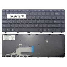 English 98% NEW Keyboard For HP For Probook 430 G3 440 G3 445 G3 US Laptop Keyboard With Frame no backlight